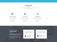 响应式牙科医疗网站HTML模板