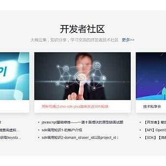 div css技术社区新闻资讯列表布局