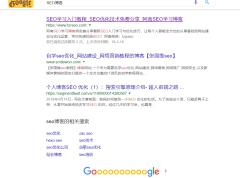 Google SEO排名优化干货分享