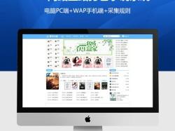 某小说网站整站打包+美化UI小说系统+电脑PC端+WAP手机端+采集规则