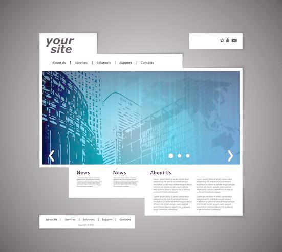 网站建设如何用边框设计突出网页设计条理性-建站运营