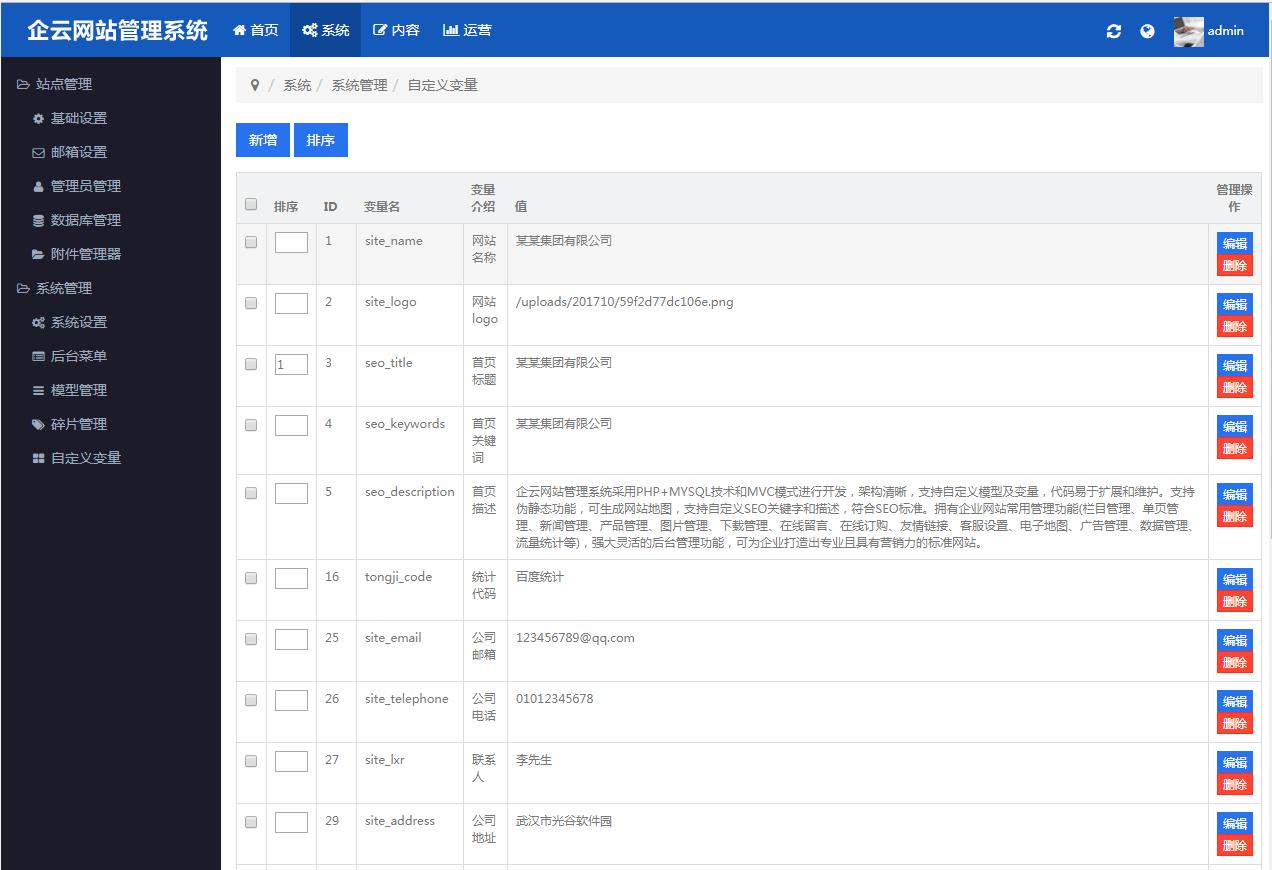 响应式mvc企业网站源码(响应式企业网站源码) (https://www.oilcn.net.cn/) 网站运营 第3张