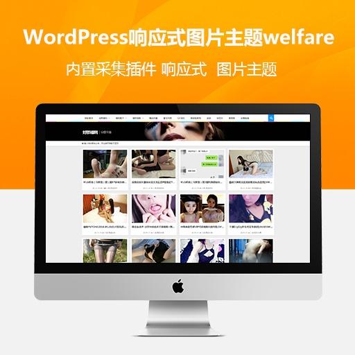 2019新品发布:WordPress响应式福利图片主题welfare 自动采集+邀请码